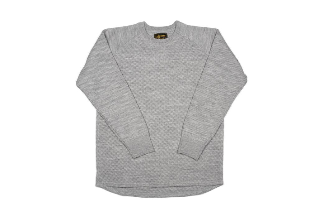 Stevenson Absolutely Amazing Merino Wool Thermal Shirt - Light Gray - Image 2