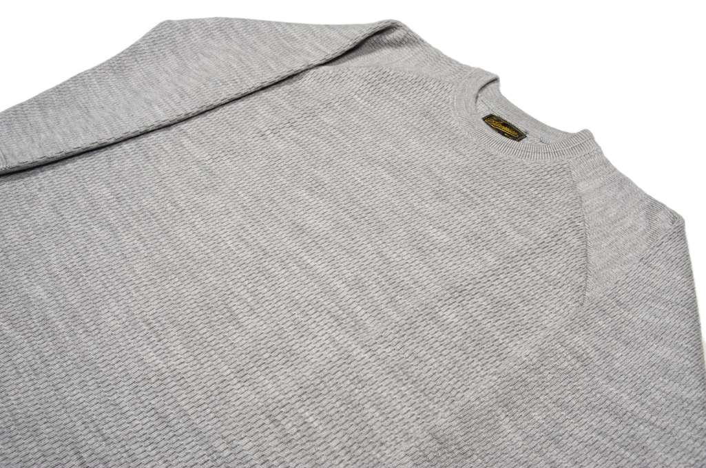 Stevenson Absolutely Amazing Merino Wool Thermal Shirt - Light Gray - Image 4