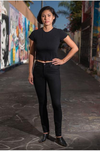3sixteen+ 766BSP Skinny Jeans - Black