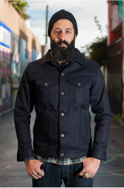 3sixteen Shadow Selvedge Type III Jacket