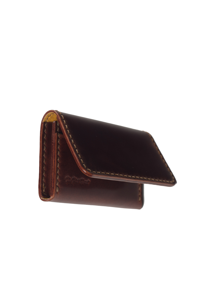 Flat Head Hand-Sewn Cordovan Wallet - Image 5