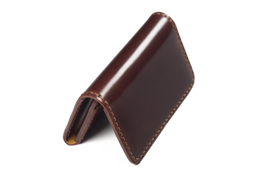 Flat Head Hand-Sewn Cordovan Wallet - Image 6