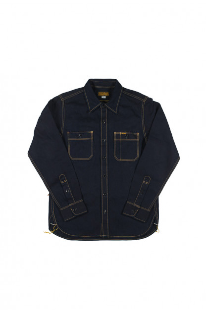 Iron Heart Indigo/Indigo 12oz Workshirt