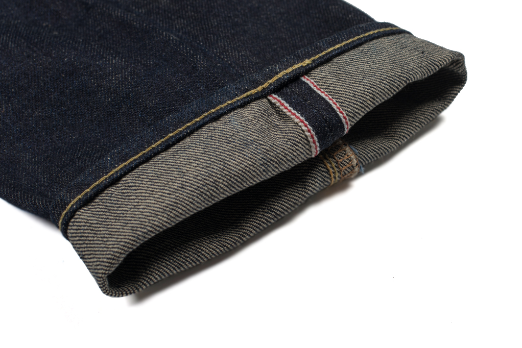 Iron Heart 633N 17oz Natural Indigo Jeans - Straight Tapered - Image 6