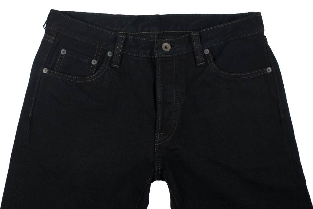 Iron Heart 633s-OD Overdyed 18oz Denim Jeans - Straight Tapered - Image 1