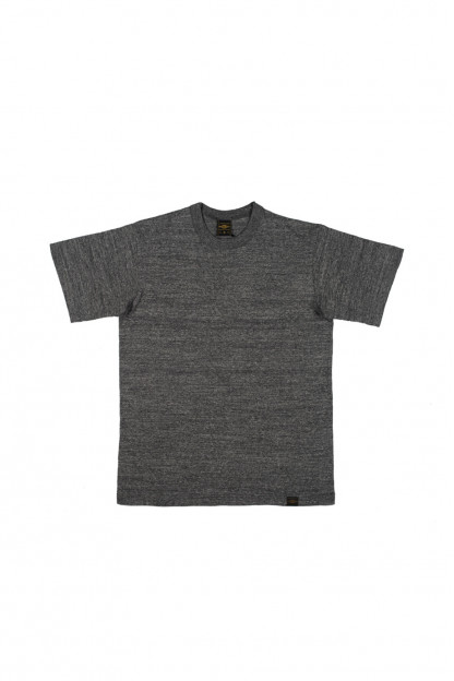 Iron Heart 6.5oz Heavy Loopwheeled T-Shirt - Gray
