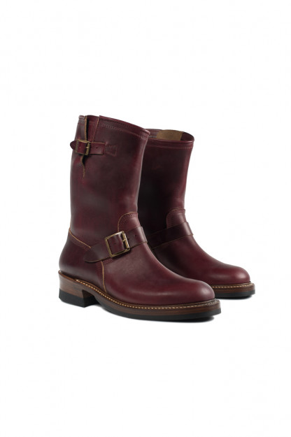 John Lofgren Engineer Boots - Burgundy Chromexcel