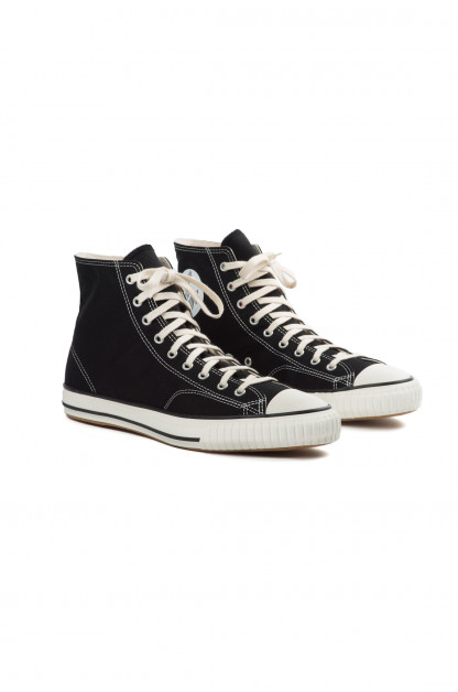 John Lofgren x Self Edge Dessau High-Top Sneakers - Black