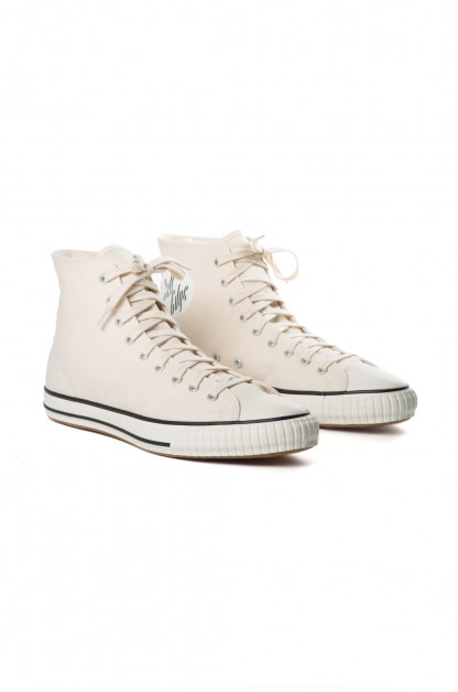 John Lofgren x Self Edge Dessau High-Top Sneakers - White