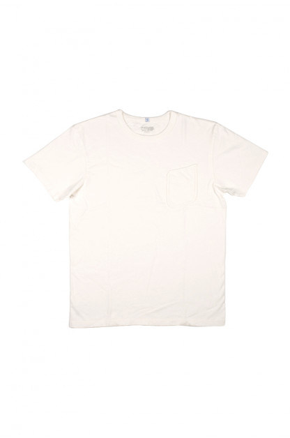 Lady White Clark Pocket Tee - White