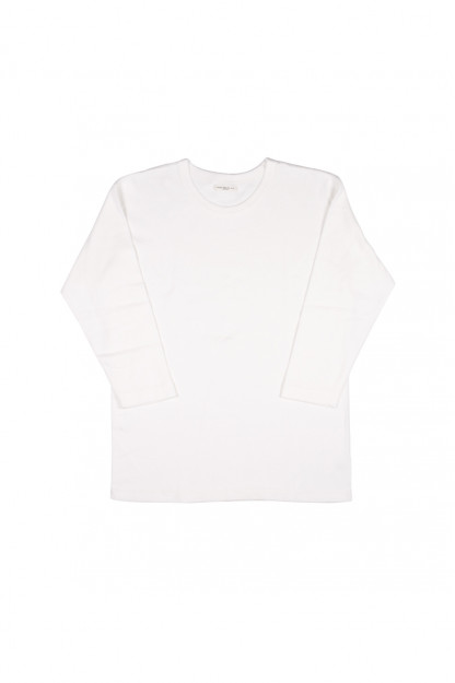 Lady White 3/4 Sleeve Shirt - White