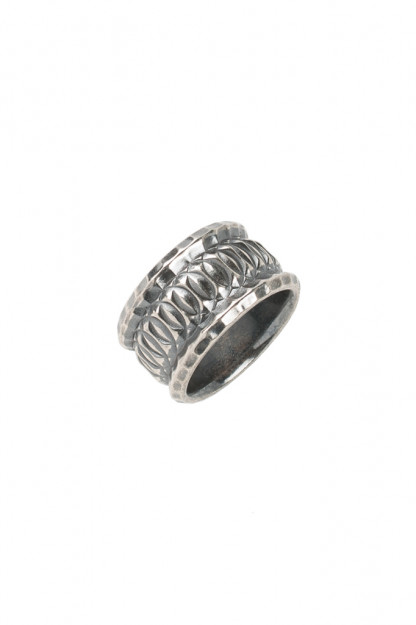 "Neff Goldsmith Sterling Silver ""Vast Regal"" Ring"
