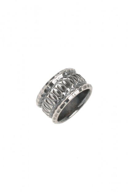 "Neff Goldsmith Sterling Silver ""Vast Regal"" Ring"