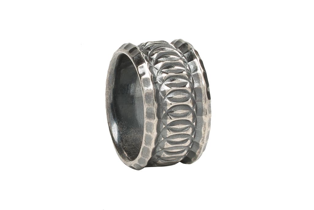 Neff Goldsmith Sterling Silver Vast Regal Ring - Image 1