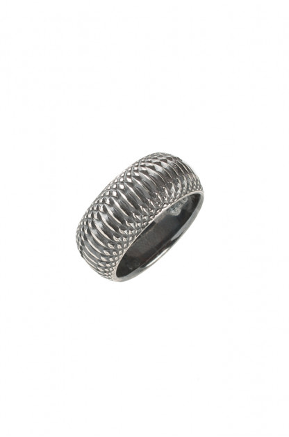 "Neff Goldsmith Sterling Silver ""Inverted Soul"" Ring"