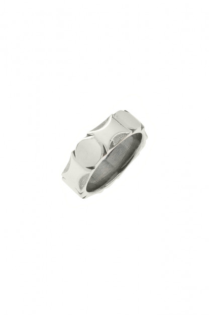 "Neff Goldsmith Sterling Silver ""Back Bar"" Ring"