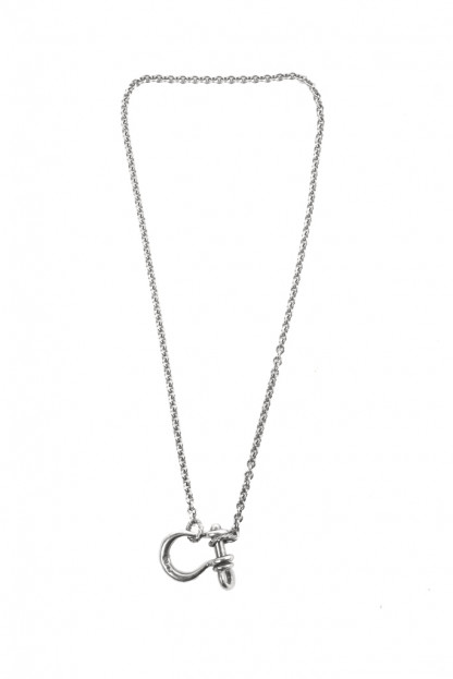 Neff Goldsmith Sterling Silver Necklace & Pendant - Textured Shackle