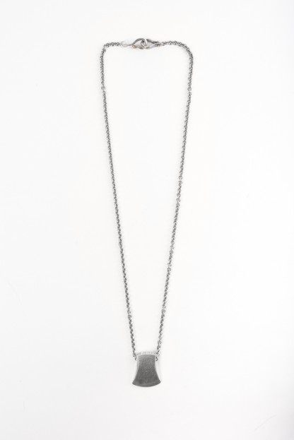 Neff Goldsmith Sterling Silver Necklace & Pendant - Axe Head