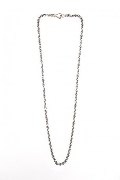 "Neff Goldsmith Link Chain w/ Custom Silver & Gold Clasp - 4mm / 24"""