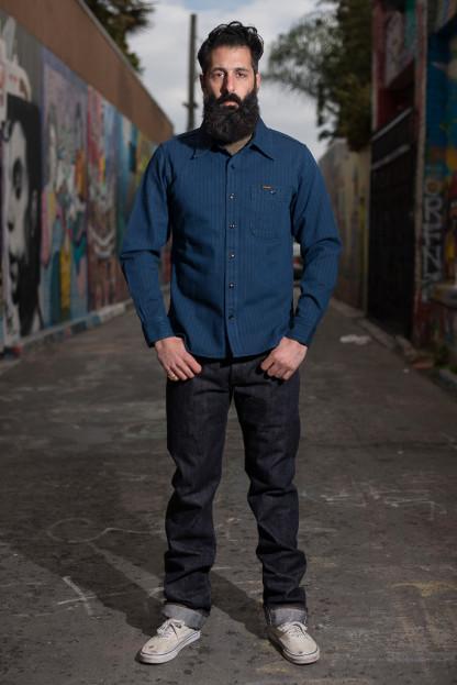 Studio D'Artisan Nep Denim Jeans - Slim Straight