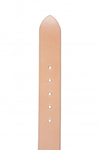 Sugar Cane Cowhide Leather Belt - Tan - Image 3