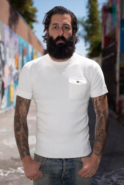 Sugar Cane Fiction & Romance Pocket T-Shirt - White
