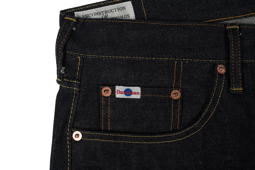 Studio D'Artisan SD-107 15oz Denim Slim Tapered Jean