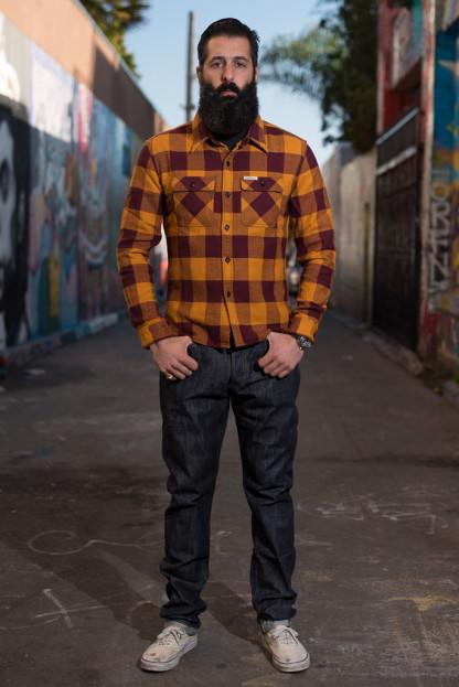 Studio D'Artisan Memphis x Zimbabwe Cotton Fiber jeans - Slim Tapered