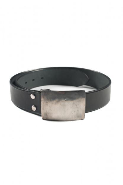 Studio D'Artisan Belt - Steel Buckle Black