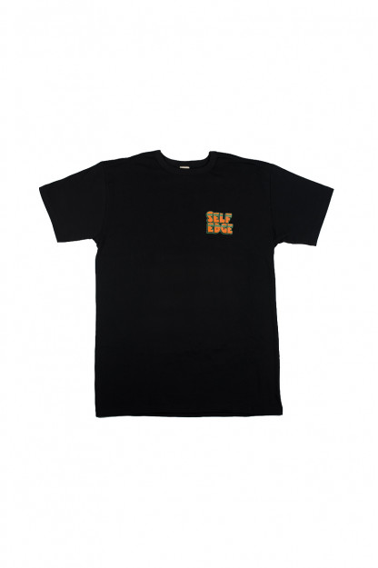 "Self Edge x Florian Bertmer ""South of the Border"" T-Shirt - Black"