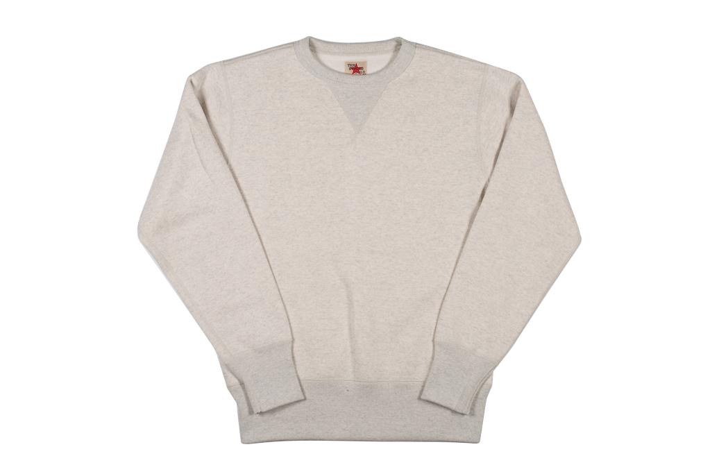 Strike Gold Heavy Loopwheeled Sweatshirt - Oatmeal - Image 4