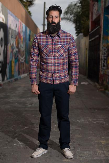 Stevenson Quartermaster Pants - Yarn Dyed Indigo Twill