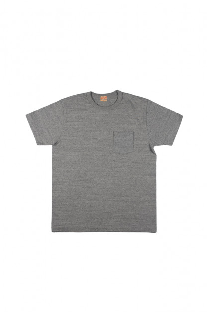 Whitesville Japanese Made Heavyweight Pocket T-Shirt - Gray