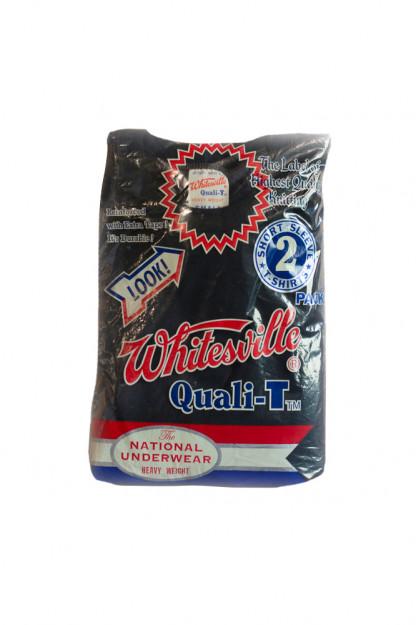 Whitesville Japanese Made T-Shirts - Black (2-Pack)