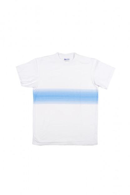 Yellow Rat Gidget Stripe T-Shirt - Blue