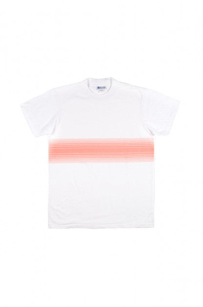 Yellow Rat Gidget Stripe T-Shirt - Salmon