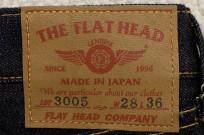 Flat Head 3005 Jean - Straight Leg - Image 4