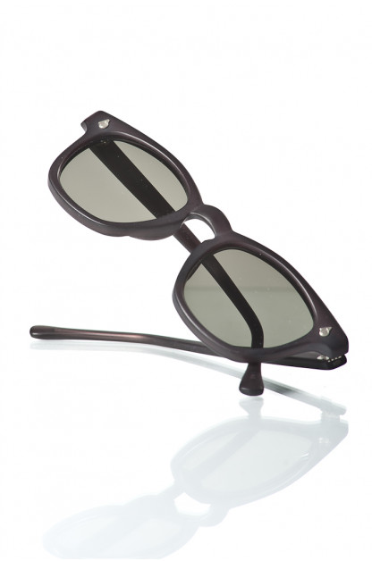 American Optical Modified Sunglasses - Blasted Black