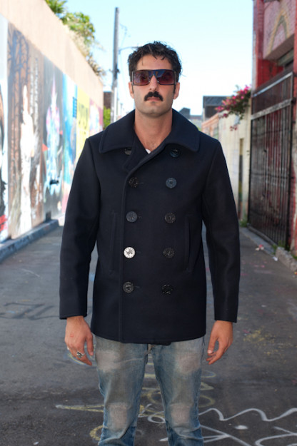 Navy Pea Coat - USN 1910's Model