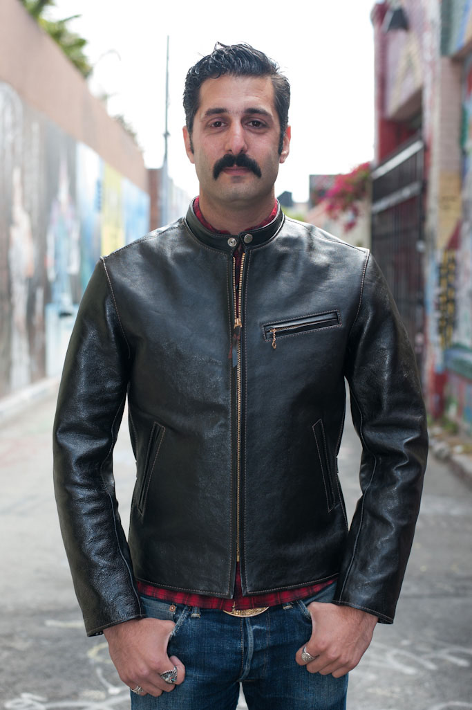 Vanson Leather Cafe Racer Jacket
