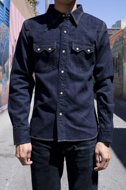 Sawtooth Selvedge Denim Shirt