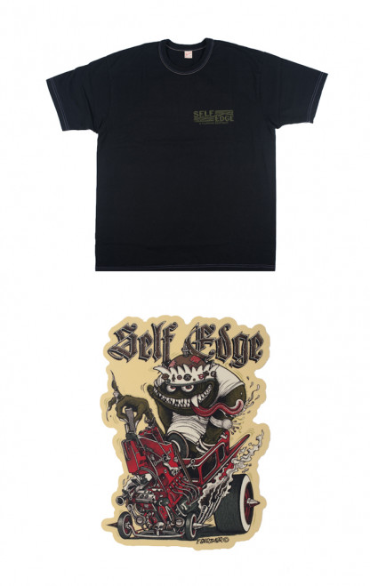 Self Edge x Florian Bertmer Hot Roddin' Union Special T-Shirt