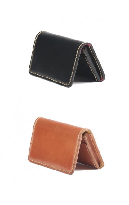 Hand-Sewn Cordovan Wallet