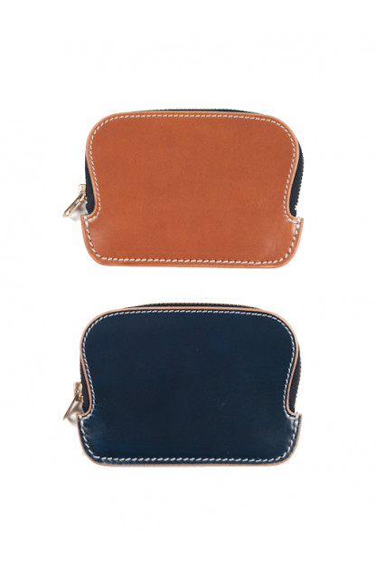 Zippered Cowhide Wallet