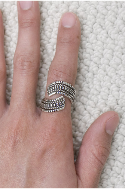Wire Wrap Ring - Inward