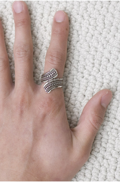 Wire Wrap Ring - Outward