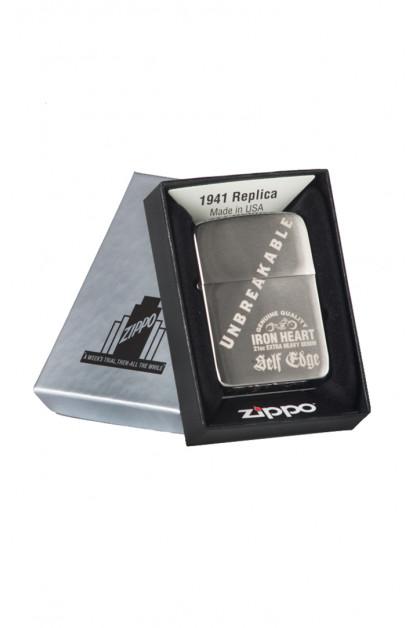 Self Edge x Iron Heart Zippo 1941 Repro Lighter - 'Unbreakable'