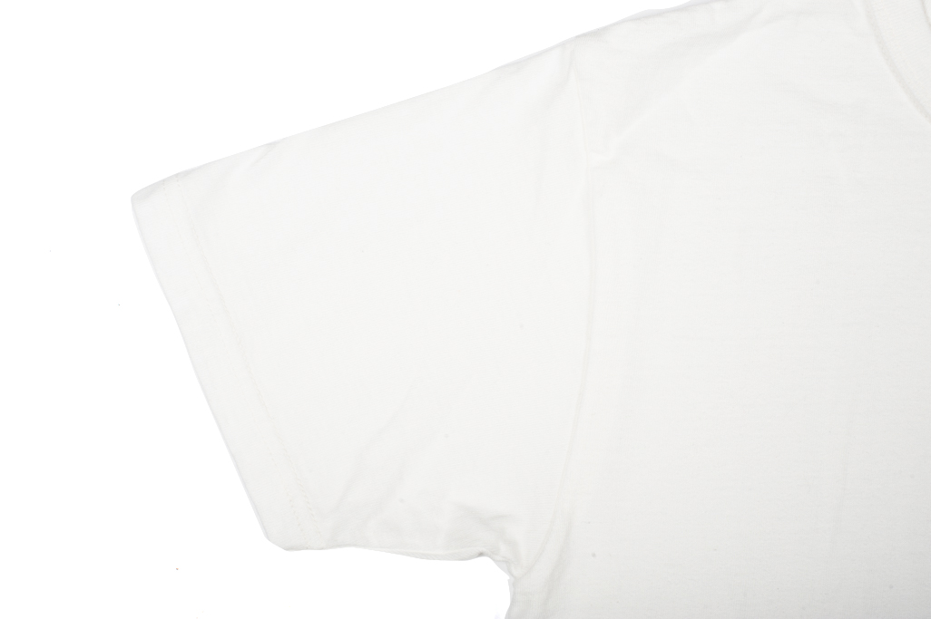 Strike Gold Blank Loopwheeled T-Shirt - White - Image 2
