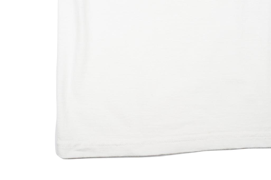 Strike Gold Blank Loopwheeled T-Shirt - White - Image 3