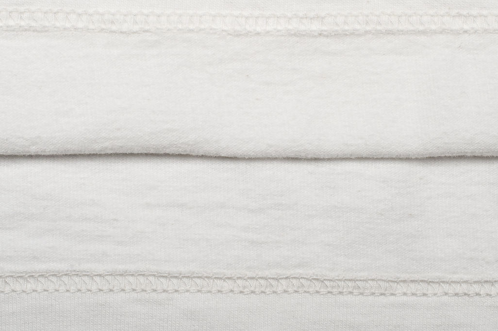 Strike Gold Blank Loopwheeled T-Shirt - White - Image 4
